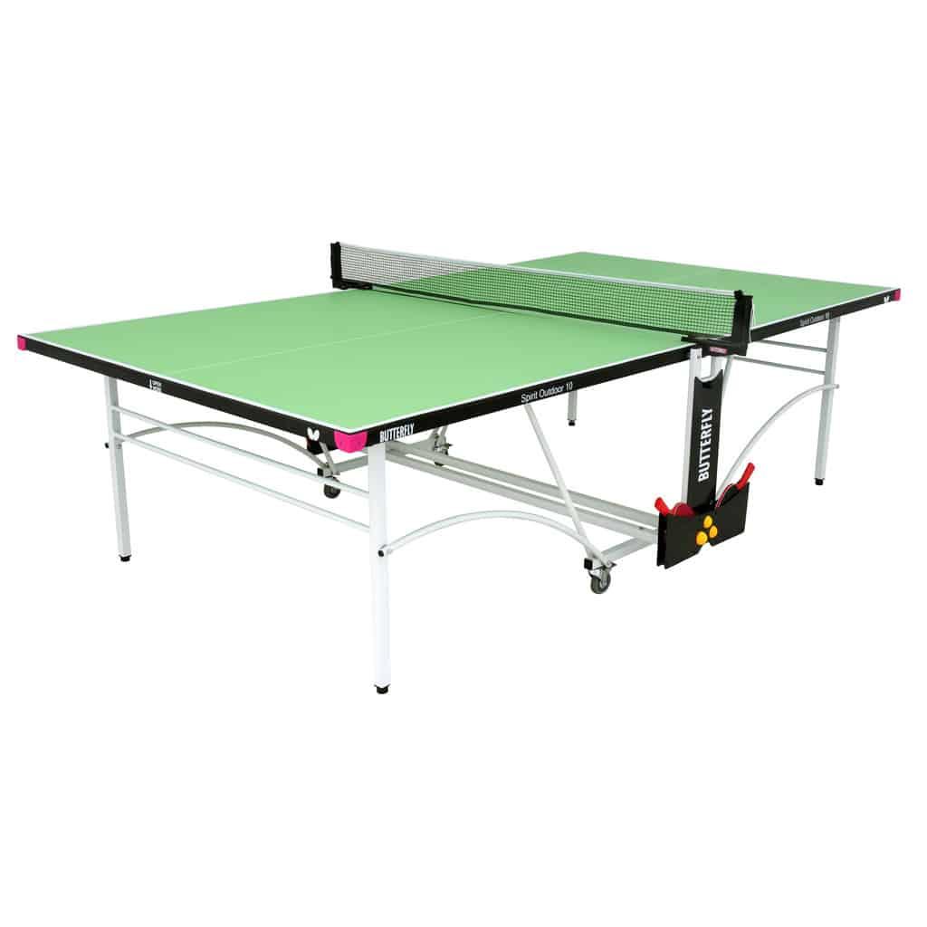 10 green outdoor rollaway table tennis table pingpongpower co uk